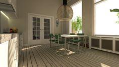 #design #gispen #stoelen #tafel is eigen #ontwerp #modern