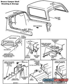 Back Glass Upper Run Weather Stripping - Ford Bronco Forum 87 Chevy Truck, Bronco Truck, Jeep Truck, Ford Bronco 1996, Ford Bronco Concept, F100, Camper Tops, Bolt Threads, Camper Shells