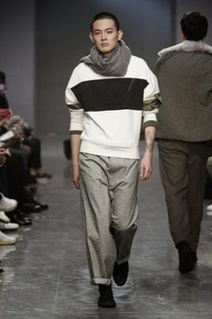 A.AV. Fall Winter 2015 Otoño Invierno #tendencias #Trends #Menswear #Moda Hombre Seoul Fashion Week  M.F.T.