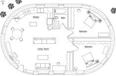 Earthbag House Plans | Small, affordable, sustainable earthbag house plans