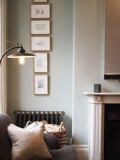 Cosy interior with fireplace. Doggy friendly hotels in the UK – No 38 The Park, Cheltenham review