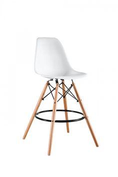 Scaun de bar Masai White #homedecor #interiordesign #inspiration #interiordesign #homedesign #chairs #bar #decoration #pub Bar, Tripod Lamp, Eames, Masai, Stool, Decoration, Furniture, Home Decor, Decor