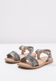 Gioseppo TAIMI - Sandals - plomb - Zalando.co.uk