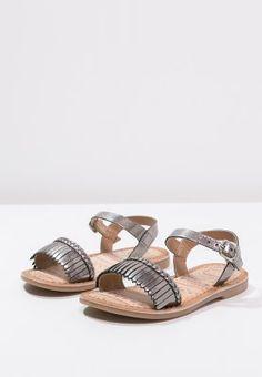 Gioseppo TAIMI - Sandals - plomb - Zalando.co.uk
