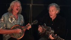 """Brooks Williams and Hans Theessink perform """"Rock Me"""" (popularized by Sister Rosetta Tharpe) in Vienna, Austria. Brooks and Hans will tour together in the UK . Blue Roots, Blues Music, Singers, Musicians, Bands, Rock, Celebrities, Opera, Music"""