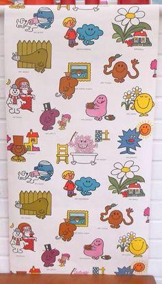 Mr Men And Little Misses Wallpaper