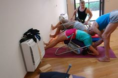 1000 images about iyengar yoga chair back bends on