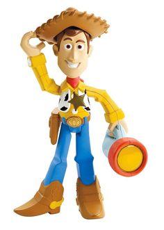 Disney Toy Story Talk & Glow Woody 'Open Box' Distressed Box Last One! #Disney