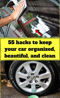 car cleaning Like our homes, if we dont clean up, our cars can get pretty nasty. You can take it to get detailed, but wouldnt you rather keep that cash in your pocket Well, you can if you these genius car-cleaning hacks and organization ideas. Lake Tahoe, Silicone Cupcake Liners, I Heart Organizing, Car Interior Design, File Organiser, Car Cleaning Hacks, Cars Birthday Parties, Wet Wipe, Popular Mechanics