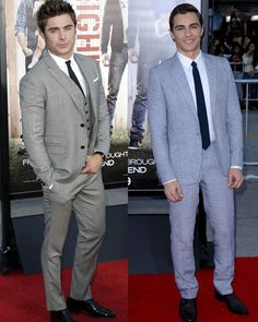 Zac Efron and Dave Franco at the world premiere of 'Neighbors.' My loves...