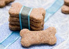 The Scrumptious Pumpkin | Welcome Home Puppy! Peanut Butter and Honey Homemade Dog Treats | http://thescrumptiouspumpkin.com