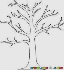 How to create a tree mural A beautiful tree mural with very little painting required. You can create a tree mural design using the concept from my previous post. Find yourself a tree shape outline. There are loads to be f… Tree Outline, Tree Templates, Printable Templates, Templates Free, Printable Stencils, Free Stencils, Printables, Design Templates, Free Printable