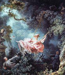 The Swing c. 1766 Artist: Fragonard Period: Rococo