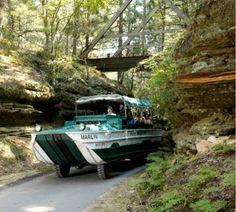 Amphibious Tours in Wisconsin Dells: Behind The Wheel of A Seven-Ton Original Wisconsin Duck - http://www.warhistoryonline.com/war-articles/amphibious-tours-wisconsin-dells-wheel-seven-ton-original-wisconsin-duck.html