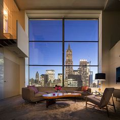TriBeca Penthouse by  Steven Harris Architects
