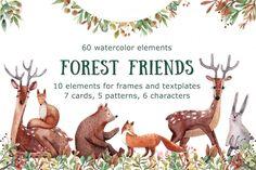 Forest Friends By Mashamashastu