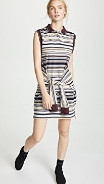 8cef248d0 Sleeveless Tie-Front Polo Dress | The Best 'See Now, Buy Now' Casual ...