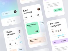 Work assistant APP 2 designed by ZhaoWei for UIGREAT Studio. Connect with them on Dribbble; Mobile Application Design, Mobile Ui Design, Design Thinking, Motion Design, Purchase App, Web Mobile, Design Ios, Sports App, Ui Design Inspiration