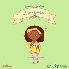 L'inesperta - a character I created for Ecco Verde Italia! You can find all the other characters at www.ritacuppari.com Character Design, Family Guy, Artwork, Fictional Characters, Italia, Work Of Art