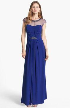 Patra Embellished Jersey Gown (Regular & Petite)   Nordstrom