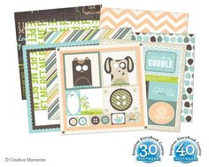 Fluffy and Fido Digital Kit for PC from Creative Memories  #digitalscrapbooking    www.creativememor...
