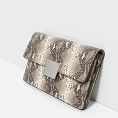 Image 3 of EMBOSSED CLUTCH from Zara