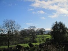 how lucky we are to live in such beautiful countryside. At 11.40am on this morning, 10th January 2015, this was the view photographed from the bedroom window of my Shropshire home