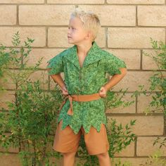 Peter Pan boys set  Handmade  perfect for Disney Vacation by tinkerellacreations, $151.00