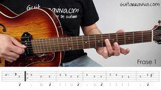 BLUES  006 - Clase de Blues Como tocar un blues en guitarra FACIL acústi...