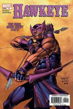 Hawkeye Vol. 3 # 5 by Carlos Pacheco