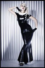 Latex Fishtail Dress