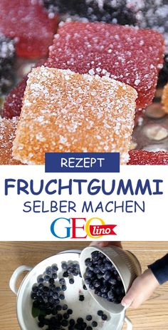 You can prepare your own fruit gums from many fruits at home. We show you how to do this on GEOlino. Gums You can prepare your own fruit gums from many fruits at home. We show you how to do this on GEOlino. Health Desserts, Easy Desserts, Healthy Foods To Eat, Healthy Recipes, Honey Moon, Fruit Gums, Fruit Fruit, Vegetable Protein, Ideas