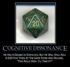 funny role-playing | cognitive dissonance