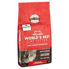 World's Best Cat Litter Multiple Cat Clumping Formula, 15 lbs - Walmart.com