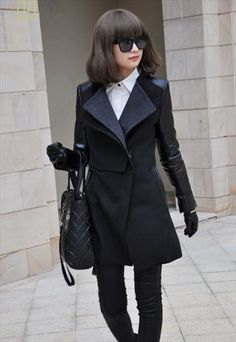 black winter coats,coats and jackets for women,ladies coats from Topboutique