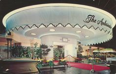 https://flic.kr/p/ysUExM   Ambassador Hotel - Los Angeles, California   Mailed from North Hollywood, California to Mrs. Blanche Lewis on August 20, 1969:  Dear Blanche: We are her to see my family again. We did not get out last winter. My 2 little grand children are adorable. We have been here 2 week & leave on the 28th for S.F.My sister & brother-in-law have a 25th anniv. on the 26th. We came by train & will leave by train - Drive to S.F. & leave from there. Hope you are wel...