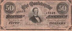 Interesting fact that some early confederate currency was printed by the American Banknote Company in New York. New York tried to be neutral in the civil war for business reasons.