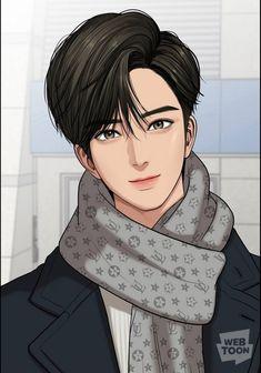 True Beauty on Webtoon Suho, Handsome Anime Guys, Cute Anime Guys, Anime Korea, Dream Anime, Islamic Cartoon, K Wallpaper, Webtoon Comics, Cha Eun Woo