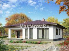 Одноэтажный дом чертежи № G-111-3P