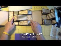Hi guys, Here is a tutorial on how to make a double tri-shutter card. Enjoy! Etsy Shop: http://www.etsy.com/shop/RedCardinalCrafts YouTube: http://www.youtub...