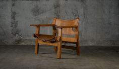 "Borge Mogensen ""Spanish"" armchair designed 1959"