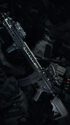 Assault Rifle CAR 816 - IPhone Wallpapers