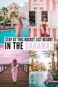 Bahamas Honeymoon, Bahamas Vacation, Nassau Bahamas, Best Resorts In Bahamas, Italy Vacation, The Bahamas, Bahamas Hotels, Grand Hyatt, Beautiful Hotels
