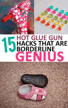 15 Hot Glue Gun Hacks that are Borderline Genius