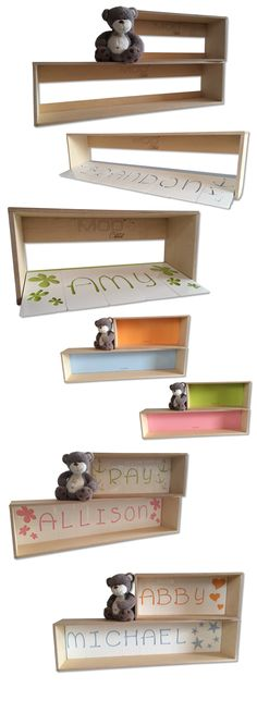 NameCUBO by MOD Child is dedicated to the little one's and allows the grown up's to display their kiddies name's in an extra special way! Enjoy