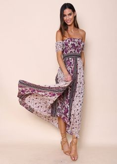 Arabesque jersey maxi dress jaipur