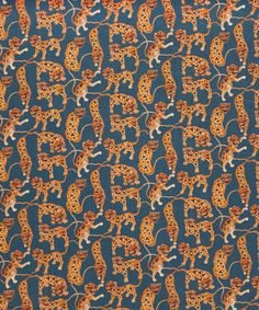 Liberty Art Fabrics Heads and Tails Tana Lawn Cotton | Fabric | Liberty.co.uk
