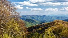 View from from Clingman's Dome, Great Smoky Mountains National Park