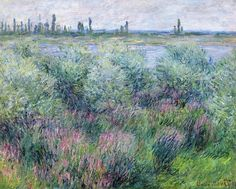 lonequixote:      Banks of the Seine at Vetheuil by Claude Monet     (via @lonequixote)     (via lonequixote)
