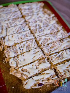 no bake cranberry and white chocolate muesli bars